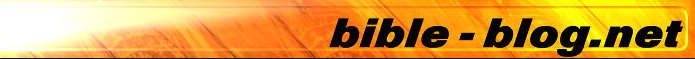 Logo graphics of bible-blog.net